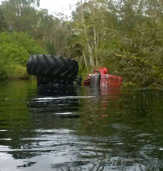 Towing from Swamps in and near Bonita Springs, Estero Florida