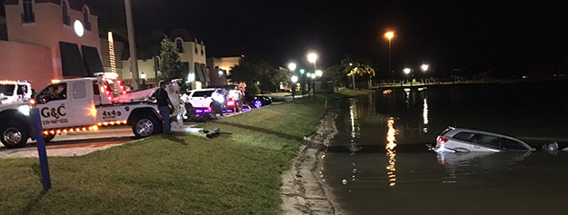 Towing from Ponds in and near Estero Florida